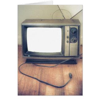 En la TV Tarjeta De Felicitación