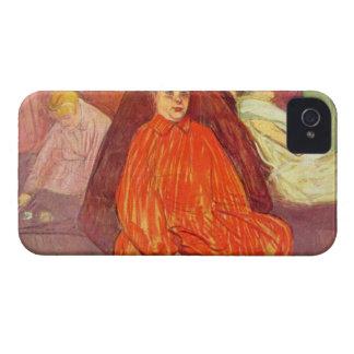 En las divas del salón por Toulouse-Lautrec Case-Mate iPhone 4 Carcasa