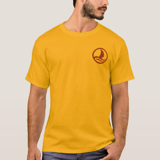 En las rocas camiseta
