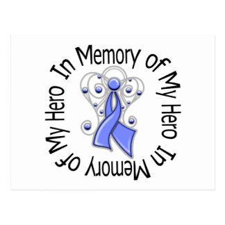 En memoria de mis alas del ángel del cáncer de postal