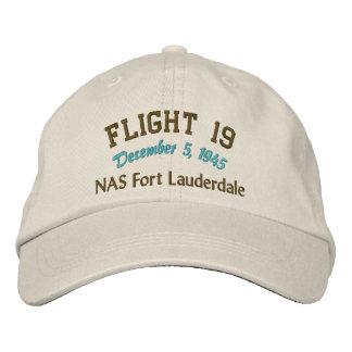 En memoria del vuelo 19 gorra de beisbol bordada