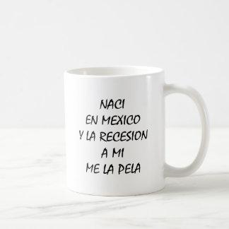 En México Y de Naci un La Recesion del MI yo La Pe Tazas