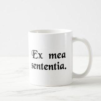 En mi opinión taza de café