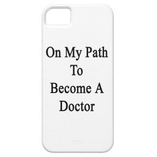 En mi trayectoria a hacer un doctor iPhone 5 Case-Mate carcasas