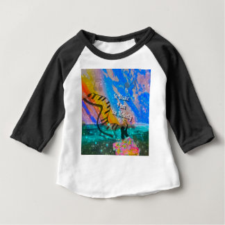 En mi vida gozo todo camiseta de bebé