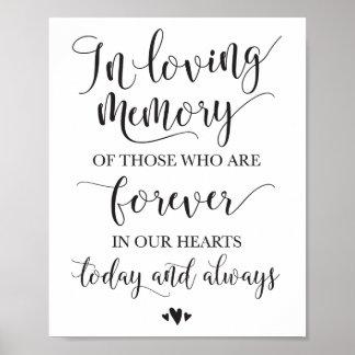 En muestra cariñosa de la ceremonia de boda de la póster
