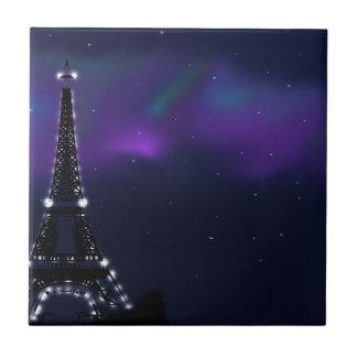En París Azulejo Cuadrado Pequeño