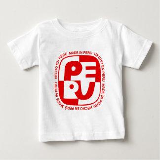 (En Perú de Hecho) logotipo Camiseta De Bebé