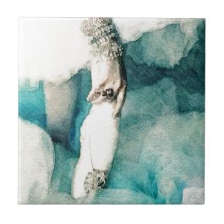 En Pointe de las joyas Azulejo Cuadrado Pequeño