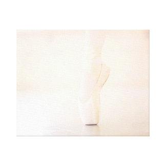 En Pointe del ballet Impresiones En Lienzo Estiradas