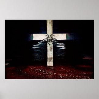 En poster del pecado y de la miseria