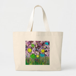 En primavera todo cambia bolso de tela gigante
