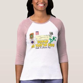 En Puerto Rico de Boricua Hecho Camiseta