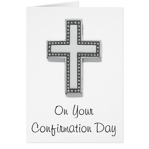 En su día de la confirmación felicitacion