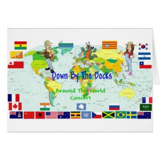 En todo el mundo concierto tarjetas