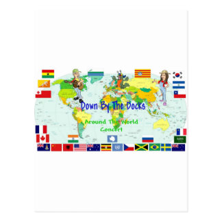 En todo el mundo concierto postal