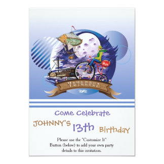 En todo el mundo ejemplo colorido del poster invitación 12,7 x 17,8 cm