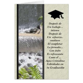 En tu Graduacion de Felicidades Tarjeta De Felicitación