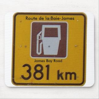 Encamine a de la Baie-James, camino de la bahía de Alfombrilla De Ratón