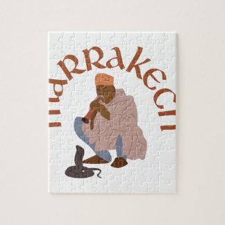 Encantador de serpiente de Marrakesh Puzzle