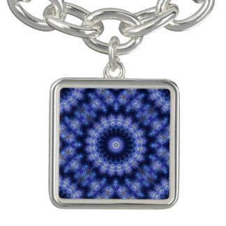 Encanto azul de la mandala de Cobolt Pulseras