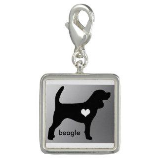 Encanto del beagle dijes