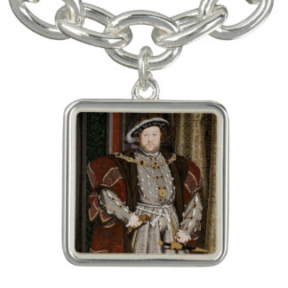 Encanto del Enrique VIII Pulseras Con Dijer