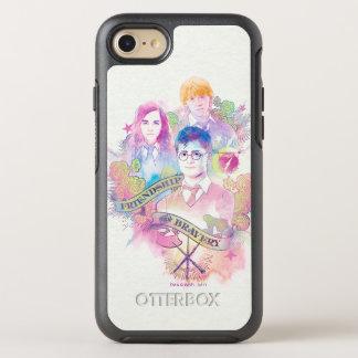 Encanto el | Harry, Hermione, y Ron Waterc de Funda OtterBox Symmetry Para iPhone 7