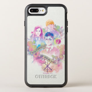 Encanto el | Harry, Hermione, y Ron Waterc de Funda OtterBox Symmetry Para iPhone 7 Plus