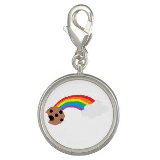 ¡Encanto plateado plata de Rainbow_Cookies! Dije Con Foto