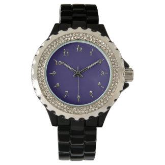 Encanto púrpura relojes
