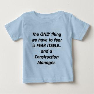 encargado de la construcción del miedo camisetas