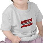 Encargado de la estrella del rock… camiseta