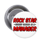 Encargado de la estrella del rock… pins