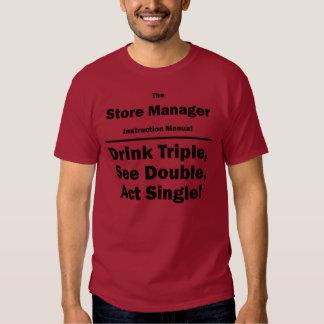 encargado de tienda camisetas