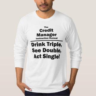 encargado del crédito camiseta