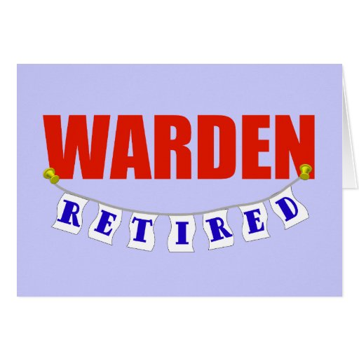 Encargado jubilado felicitacion