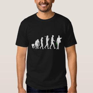 Encargado para hombre del coche de deportes del camiseta