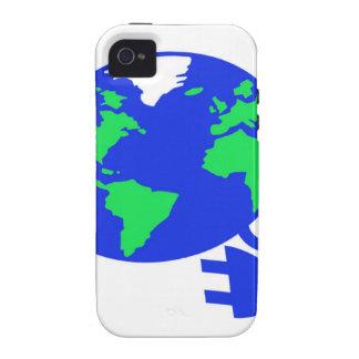 enchufado mundo copy.jpg Case-Mate iPhone 4 fundas