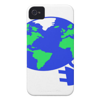 enchufado mundo copy.jpg iPhone 4 carcasas