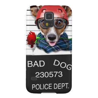 Enchufe divertido Russell, perro del Mugshot Funda Galaxy S5