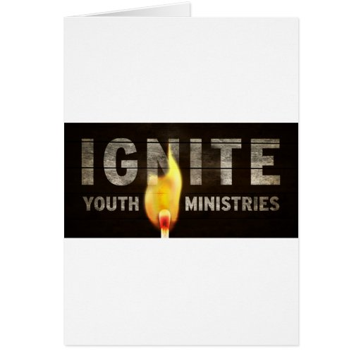 Encienda los ministerios de la juventud tarjetón