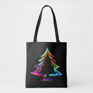 Enciéndalo encima de la bolsa de asas del navidad