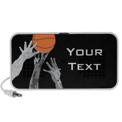 encima para de diseño del vector del baloncesto de altavoz