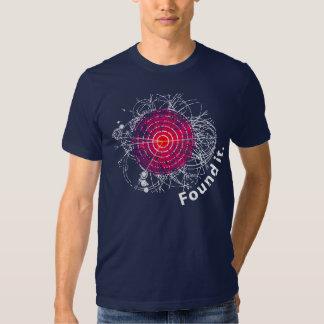 ¡Encontrado le! Bosón de Higgs Camisetas