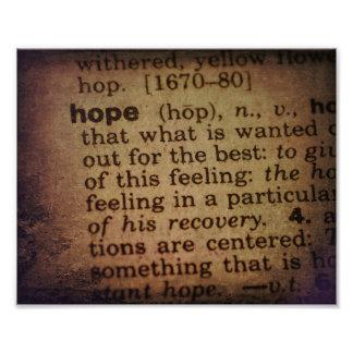 Encontrando el significado - esperanza foto