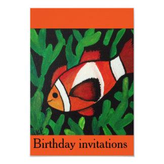 Encontrar las invitaciones del cumpleaños de Nemo Invitación 8,9 X 12,7 Cm