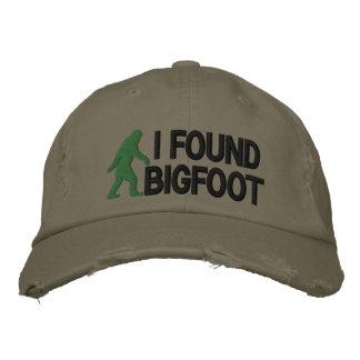 Encontré Bigfoot * logo* grande Gorra Bordada