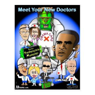 Encuentre a sus nuevos doctores postal