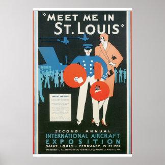 Encuéntreme en ilustraciones del poster del viaje póster